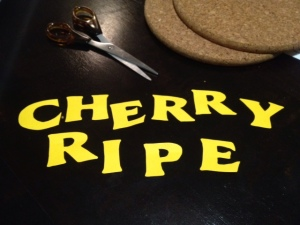 Cherry Ripe Letters